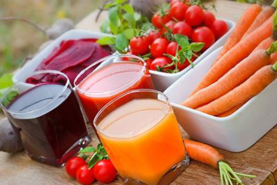 сок моркови, свеклы и томата