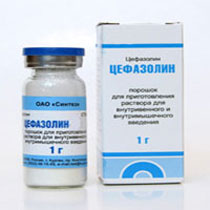 Цефазолин при бронхите